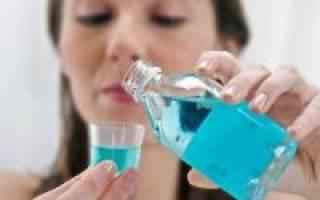 Антисептик для полоскания рта