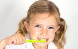 Желтые зубы у ребенка 2 года