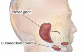 Воспаление слюнной железы у ребенка