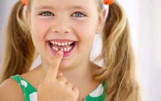 Сроки смены молочных зубов