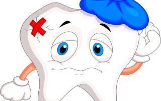 После зубного болит зуб