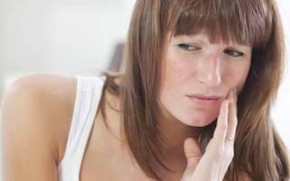 Симптомы флюса щеки