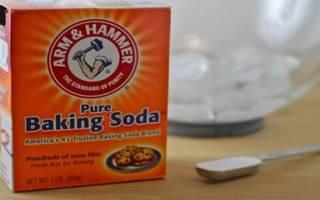 Сода при зубной боли