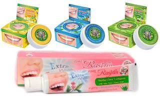 Зубная паста из тайланда как пользоваться