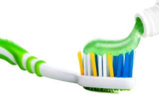 Зубная паста с фтором и кальцием