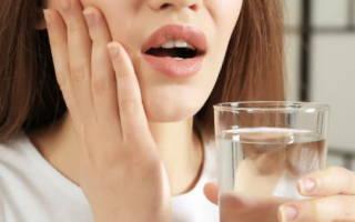 Полоскание зубов содой
