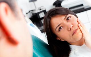 Болит зуб мудрости при беременности что делать
