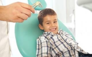 Как удаляют молочные зубы у детей