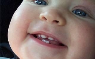 Симптомы когда режутся клыки у ребенка