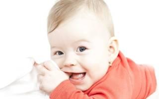 Последовательность зубов у младенцев